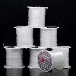 Fil nylon 1 mm transparent non élastique