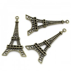 Breloque tour Eiffel bronze