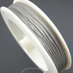 Fil acier 0.5 mm pour perle ou mobile