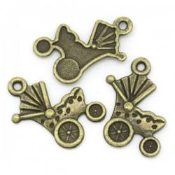 Landau (poussette) couleur bronze