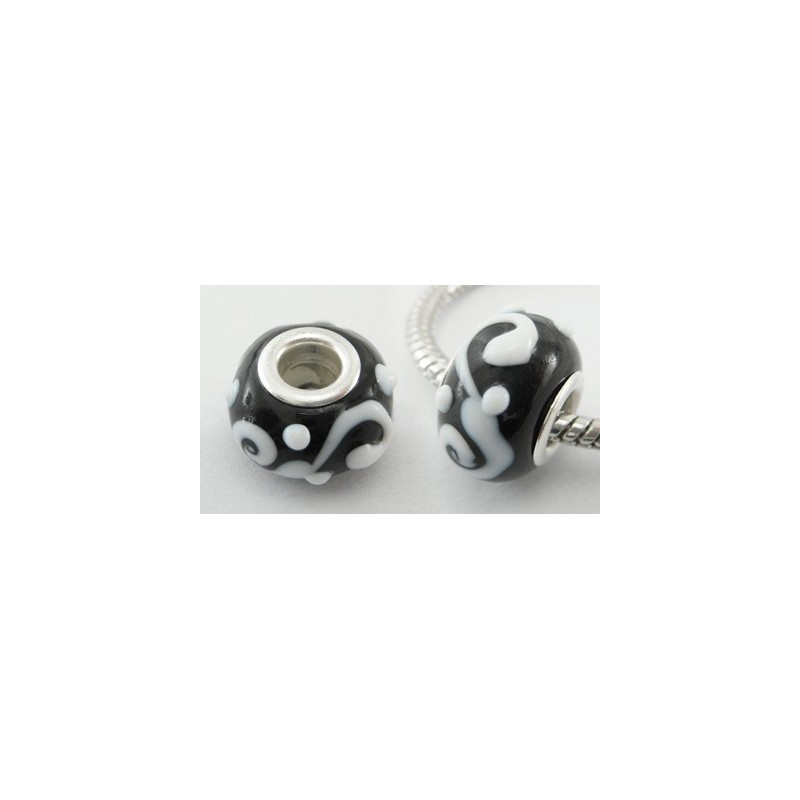 pandora blanc et noir
