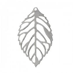Pendentif petite feuille d'arbre