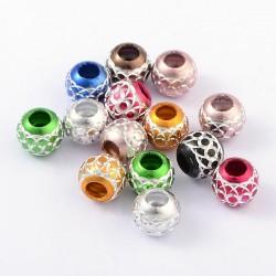 Perle style Pandora boule différents coloris