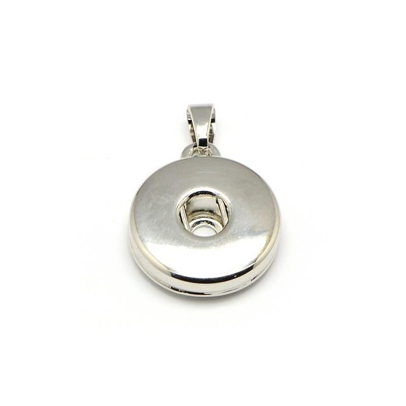 Pendentif snap pour bouton pression alliage laiton pour réaliser vos bijoux snap avec pression