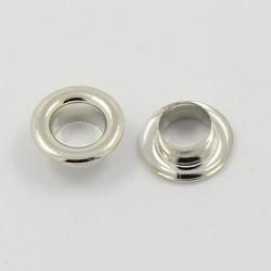 6 paires de noyaux 8x3x4.5 métalliques