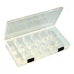 Boîte de rangement pour perles 18 cases tri facilité perle, apprêts, accessoires pour bijoux