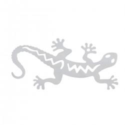 Pendentif estampe forme Salamandre en acier inoxydable