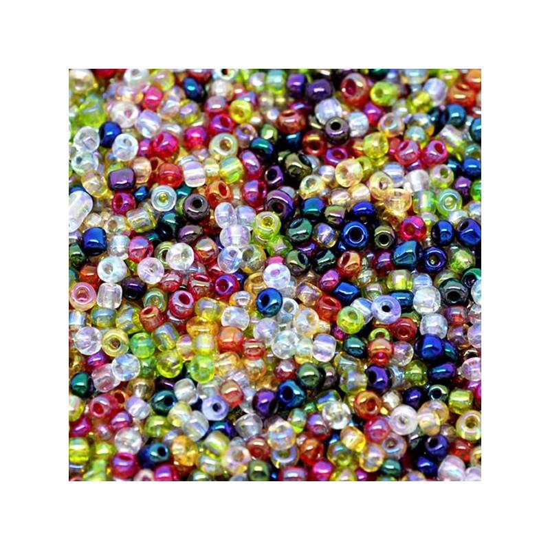 perle de rocaille en verre