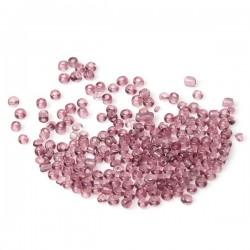 Perles de rocaille prune 10/0 (2 x 2 mm)