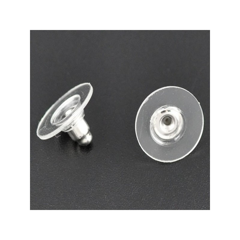 fermoir boucle d oreille silicone
