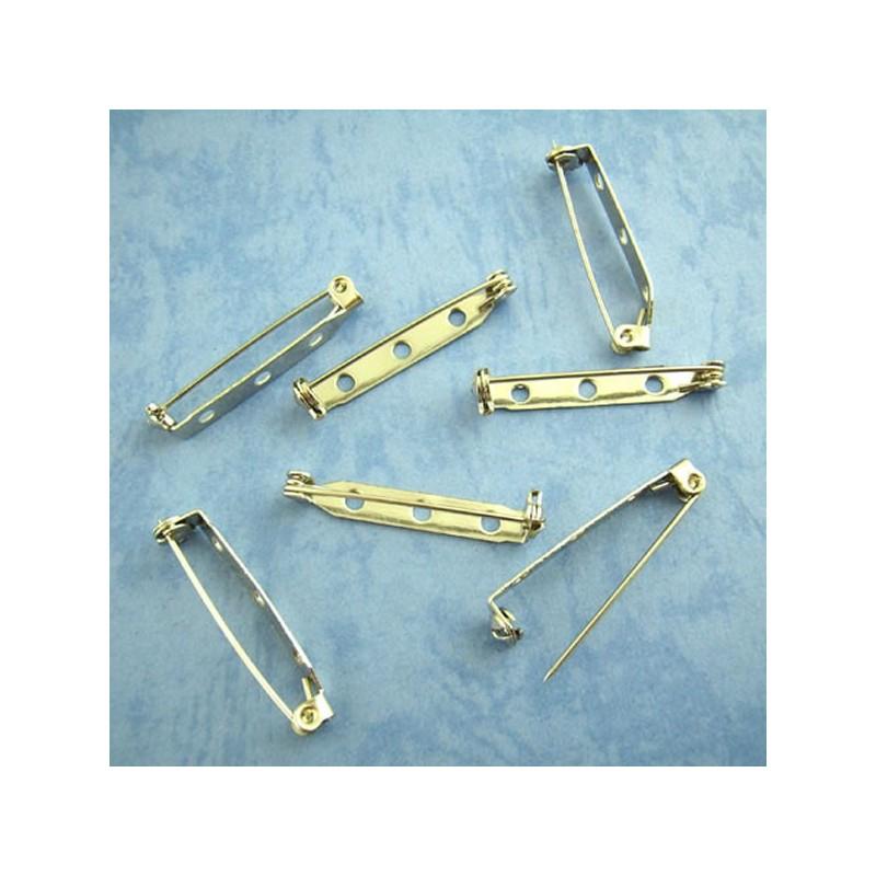 Supports de broche épingle avec sécurité 33 x 5mm