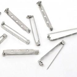 Supports de broche épingle avec sécurité 39 x 5 mm