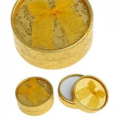 Boîte bijou ronde  argent