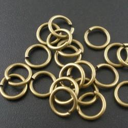 Anneaux ouvert de jonction 10 mm couleur bronze