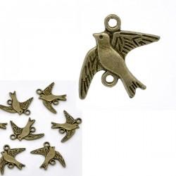 Connecteur forme oiseau