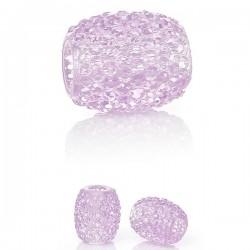Perle résine rose clair style Pandora