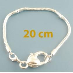 Bracelet  charm 20 cm style pandora bijou européen